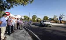 Diputación finaliza las obras de mejora del acceso a Ventas de Huelma