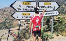 Cruce de letras en la Alpujarra de Granada