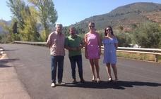 Última fase de ejecución en la adecuación de la carretera que une Puente de Génave con Peñolite