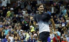 Federer despacha a Feliciano y se acerca a unas semifinales con Nadal