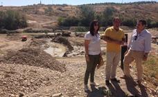 """Las obras del vado inundable entre Campillo del Río y Vados de Torralba avanzan a """"buen ritmo"""""""