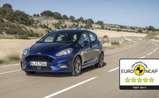 Nuevo Ford Fiesta, cinco estrellas Euro NCAP