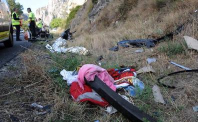 El padre de la familia muerta en Pancorbo confiesa que se quedó dormido al volante