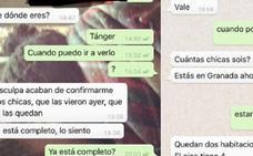 Los 'whatsapps' de una casera de Granada con los que denuncian un caso de racismo en redes sociales