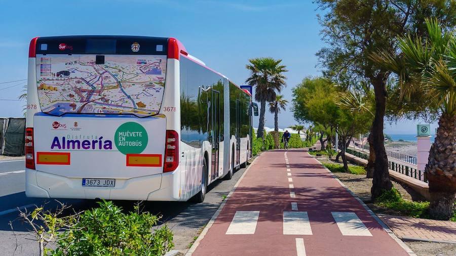 El bus entre Huércal de Almería y el campus de la UAL arranca el lunes