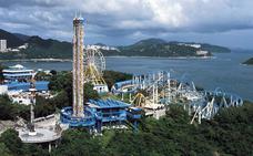 Un fallecido en la atracción 'Enterrado vivo' de un parque de Hong Kong