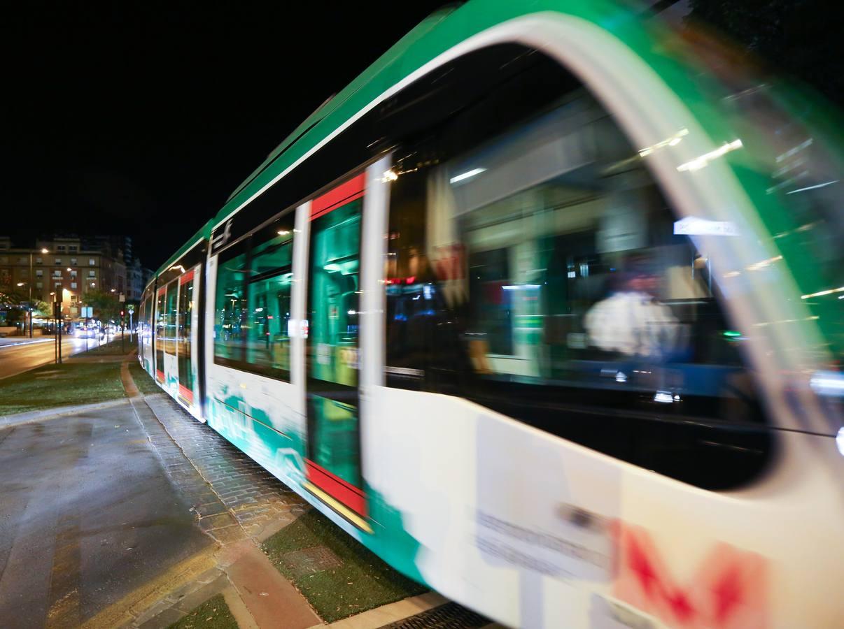 El metro de noche
