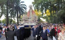 La Basílica de Santa María acoge, un año más, a la Virgen de Linarejos