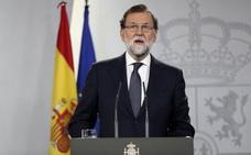Rajoy cancela su viaje a Tallín por la situación en Cataluña