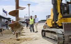 El Ayuntamiento inicia las obras del segundo parque canino en Almería