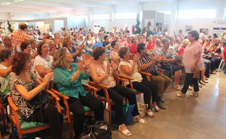 Las personas mayores de Jaén muestran su vitalidad