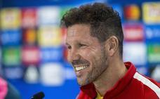 Simeone: «Costa no estaría aquí si no hubiera hecho el esfuerzo que hizo»