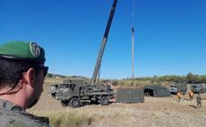 Padul acoge un concurso nacional de patrullas de logística militar