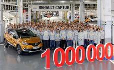 Renault produce un millón de Captur en Valladolid