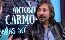 Antonio Carmona se recupera tras una infección de garganta