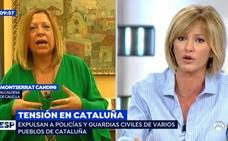 Las lágrimas de Susanna Griso en pleno directo al enfrentarse a una alcaldesa de Cataluña