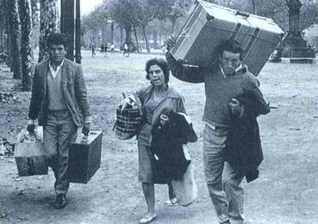 Resultado de imagen de migraciones años 50 barcelona