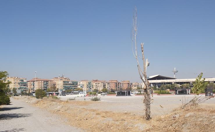 El mercadillo del Zaidín se ubicará en la nueva zona verde entre Los Cármenes y Ronda Sur