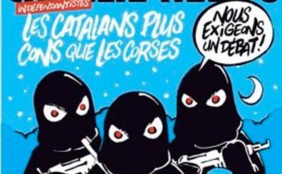 """El enorme 'zasca' de Charlie Hebdo a los independentistas: """"Los catalanes, más idiotas que los corsos"""""""