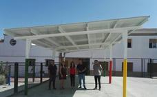 Escolares de Lahiguera y Garcíez se benefician de obras de eficiencia energética en sus colegios