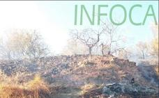 El incendio forestal de Válor afectó a 0,9 hectáreas de terreno agrícola