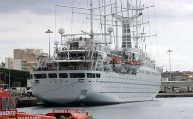 Desembarco masivo de cruceristas en Almería