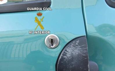 Detenido en Alcaudete acusado de numerosos robos con fuerza en el interior de vehículos