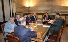 Subdelegación activa un plan especial de seguridad para la campaña olivarera en Granada