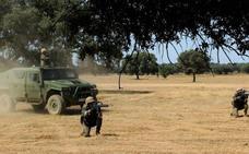 El XXVIII contingente español para Líbano completa su preparación