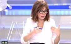 """Gritos de """"¡Fascistas!"""" en el pueblo de Puigdemont a 'El programa de Ana Rosa'"""
