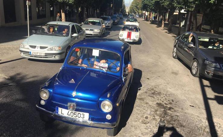 Los coches clásicos carburan en Jaén