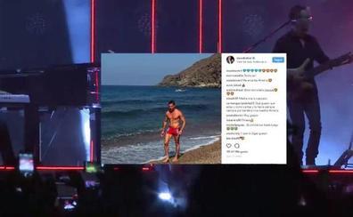 David Bisbal luce cuerpazo en Cabo de Gata