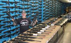 El impactante arsenal del 'hombre más armado de Estados Unidos'