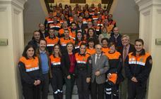 Unos 400 voluntarios de Protección Civil participan en cursos de formación de la Junta en Granada