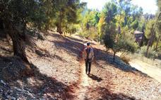 Un sendero a la Silla del Moro