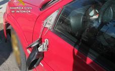 Detenido el presunto autor de los daños ocasionados en diez vehículos en una sola noche