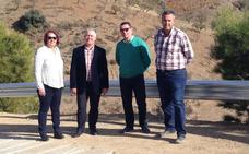 La Diputación invierte 90.000 euros en la mejora de un camino en Albondón