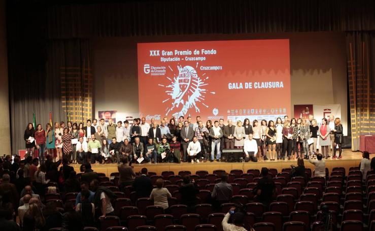 El Gran Premio de Fondo Diputación de Granada celebra la gala de su XXX edición con gran alegría