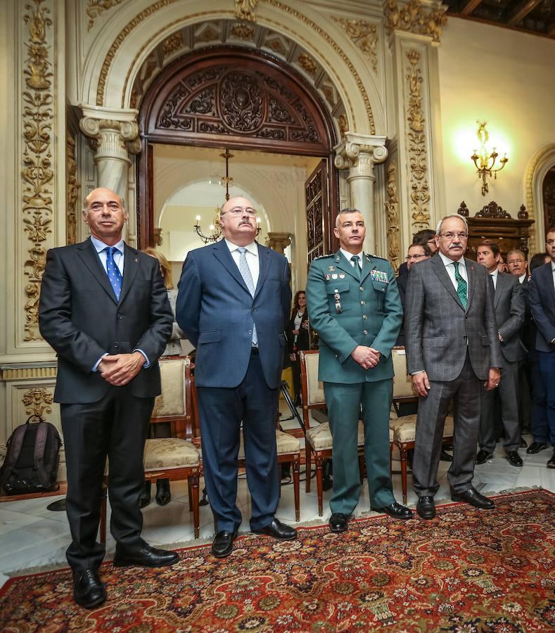 Acto de conmemoración del XXXIX aniversario de la Constitución Española