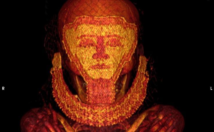 Investigación de la UGR con momias