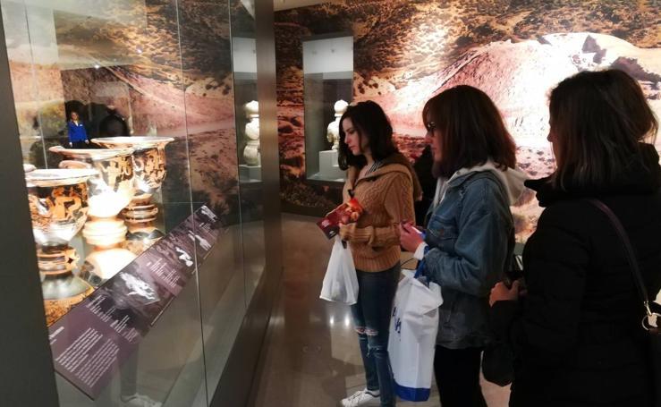 El Museo Íbero de Jaén recibe a sus primeros visitantes