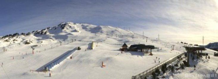 Festival de nieve en las pistas españolas
