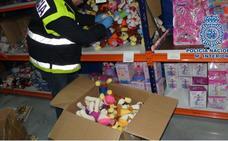 Detenido por vender juguetes falsificados y peligrosos en Torredelcampo