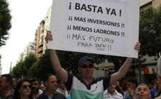 Jaén Merece Más vuelve a salir a la calle a los seis meses para pedir inversión y futuro