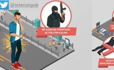 Cómo escapar de un atentado terrorista en España