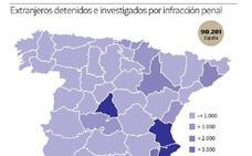 Almería es la segunda provincia andaluza con más extranjeros arrestados