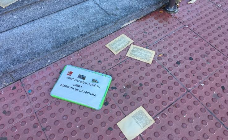 Destrozan los libros del Ayuntamiento de Otura para fomentar la lectura