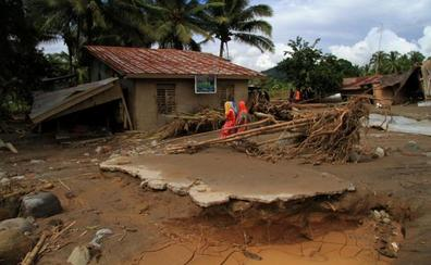 El tifón 'Vinta' deja 230 muertos y 70.000 desplazados en Filipinas