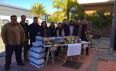 NNGG recoge en Granada casi 800 kilos de alimentos en su campaña 'Malos tiempos, buena gente'