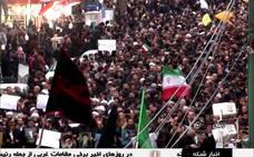 Trece muertos y decenas de heridos tras cinco días de protestas en Irán